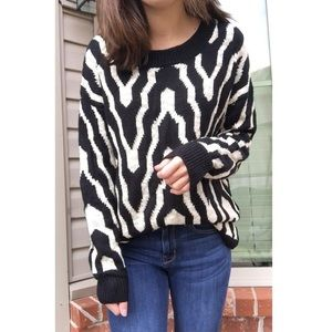 ANTHRO•• Patterned Sweater